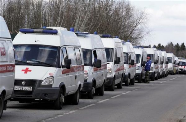 moscow hospitals flooded as coronavirus death toll passes
