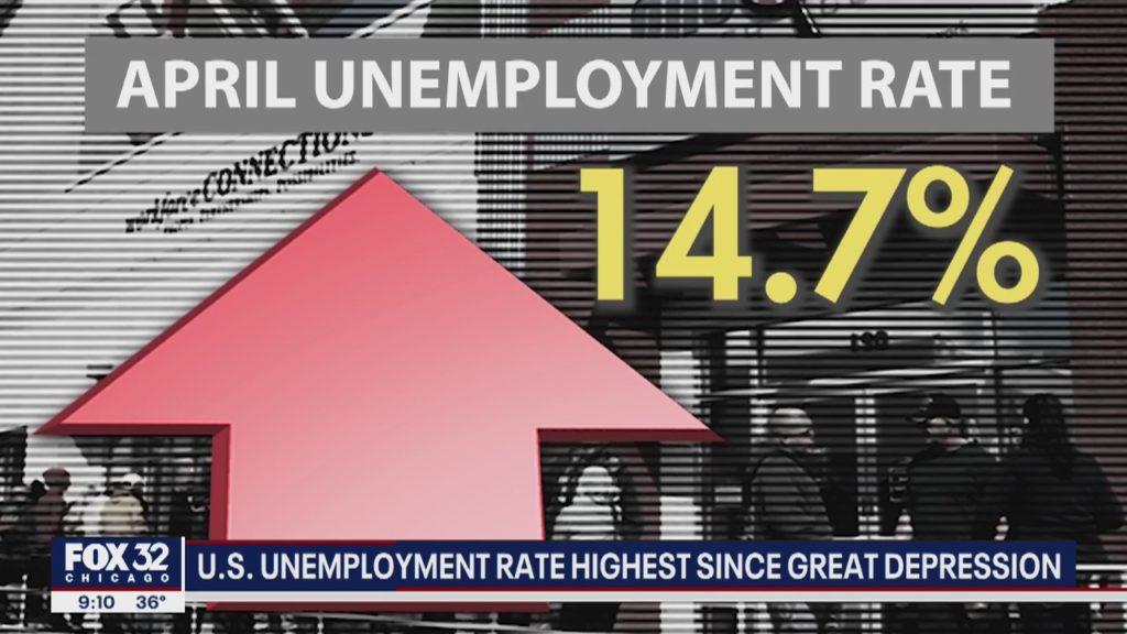 US unemployment surges to a Depression-era level - Ya Libnan