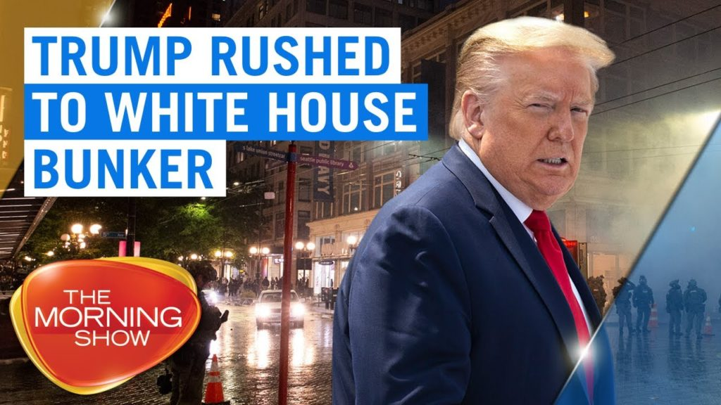 Trump In Bunker